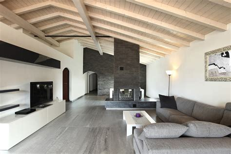 interno ville in legno perch 233 sceglierle idee architetti