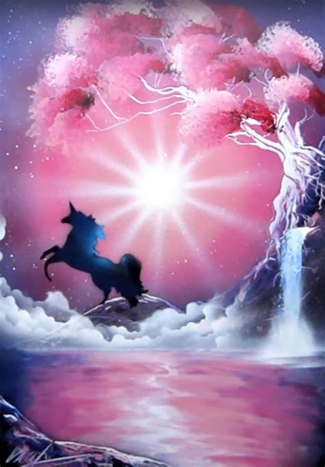 pink unicorn skech
