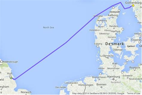 boat shipping map how do i get a freight ferry from uk to sweden