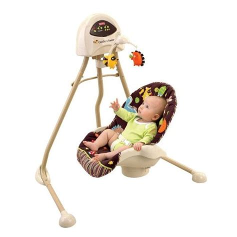 fisher price animal swing fisher price 2 in 1 cradle swing in woodland animals owl