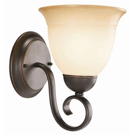 Scroll Sconce Design House Kimball 1 Light Galvanized Steel Indoor