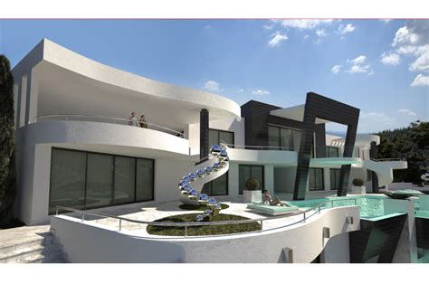 villa modern a super modern villa project in marbella south spain