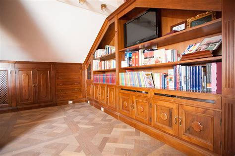 librerie per mansarde beautiful libreria legnoeoltre with librerie per mansarde
