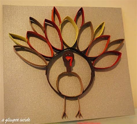 How To Make Turkey Out Of Paper - 7 green thanksgiving craft ideas list goodnet