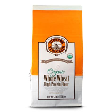 9 protein flour organic whole wheat high protein flour