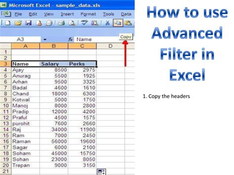 excel 2013 advanced filter tutorial excel headers microsoft adding collaboration more office