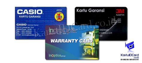 Jasa Cetak Kartu Garansi 081 252 3434 76 cetak kartu garansi cetak id card garansi