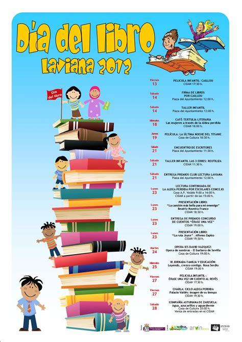 el libro de actividades laviana celebra el d 237 a del libro con multitud de actividades llana publicidad