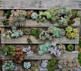 Vertical Gardening Containers - pallet herb garden is the solution for limited space
