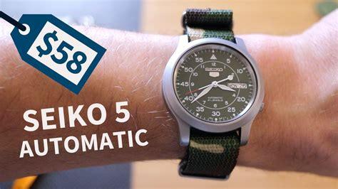 best seiko 5 best watch under 100 seiko 5 automatic snk805 youtube