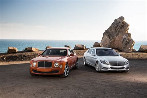 bentley mercedes 2016 bentley mulsanne speed vs 2016 mercedes maybach s600