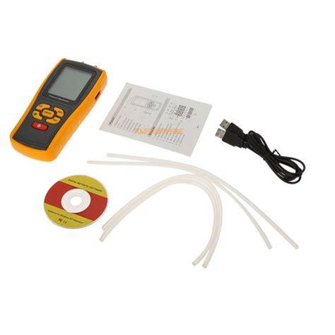 Display Digital Manometer Handheld Air Pressure Meter Ht 1890 1 lcd digital handheld manometer differential air pressure tester 177 10kpa ebay