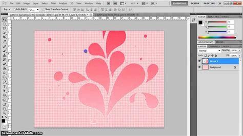 membuat poster gambar tutorial membuat wallpaper simple di photoshop youtube