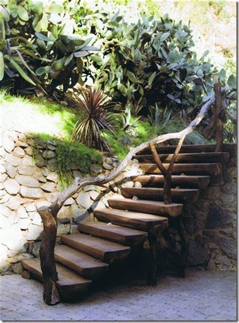 Garden Banister by 25 Best Ideas About Garden Stairs On Garden