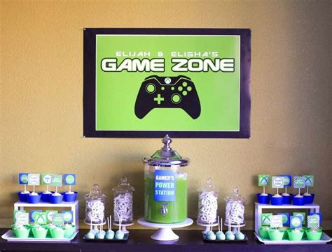 game themed events video games birthday party ideas birthday party ideas