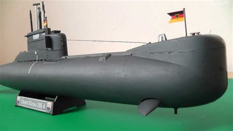 u boat type 206a building the 1 144 scale revell u boot type 206a