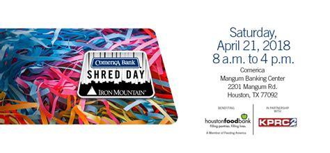 Free Document Shredding Houston