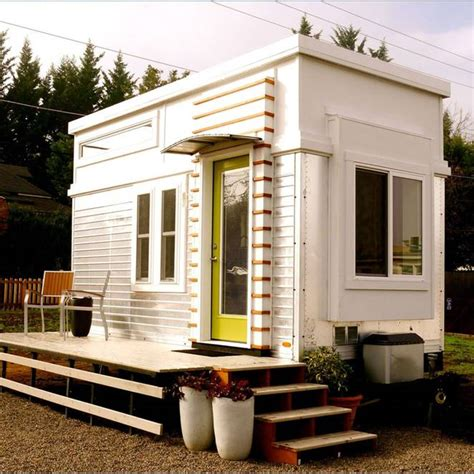 Carriage 5th Wheel Floor Plans by Man Rebuilds Salvaged Trailer Into 200 Sq Ft Tiny Home