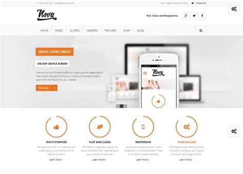 theme wordpress nova nova by themeforest un th 232 me wordpress apprenti webmaster