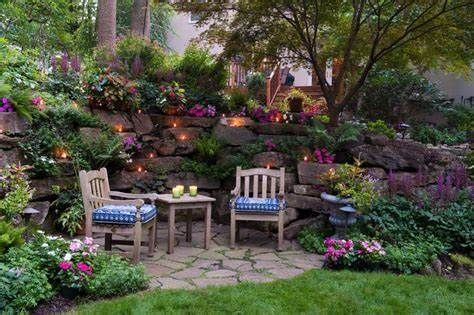 small patio ideas bing landscaping retaining