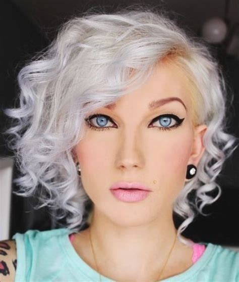 show different hairstyle bob and color for spring 20 trendy grey silver hairstyles for spring pretty designs