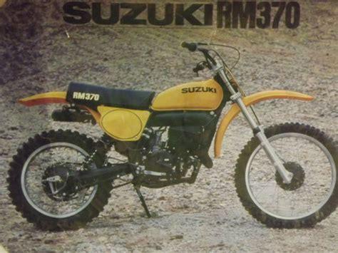 vintage motocross races 1977 rm370b vintage motocross race bike rm 370