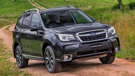 subaru orester the motoring world subaru updates the forester suv with