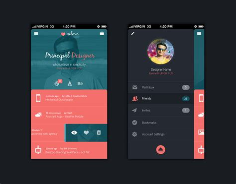 design mobile app ui 50 latest free mobile ui elements design kits