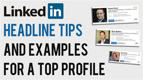 linkedin headline tips and exles 2013 how to write a