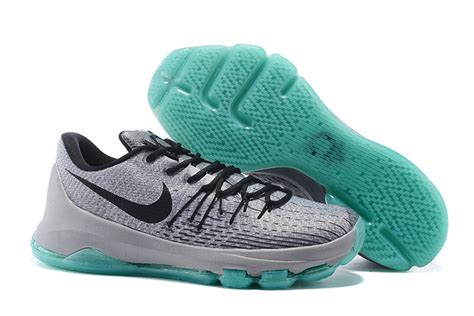 kd 8 sneakers kd 8 shoes silver pewter tumbled grey green glow