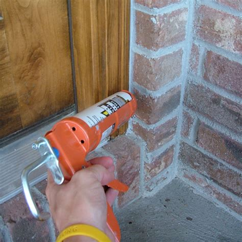 caulking around your front door door hardware blog