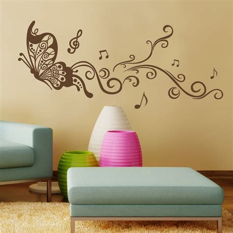 butterfly bedroom decor butterfly wall decals for bedroom living room art painting wall stickers in wall stickers from