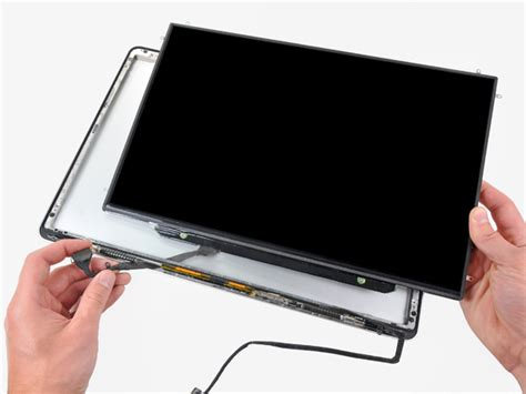 macbook pro early 2008 fan replacement macbook pro 15 quot unibody late 2008 and early 2009 lcd