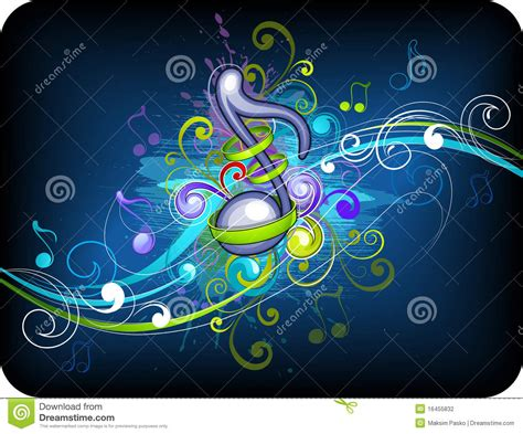 design background music music background design stock photography image 16455832