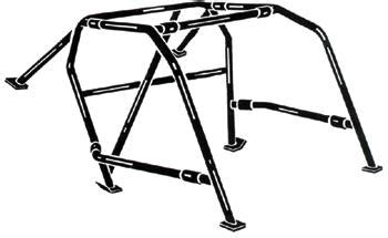 1965 73 mustang 6 point roll cage kit mustangs plus