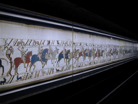 Tapisserie De Bayeux by A La Rencontre De La Tapisserie Brod 233 E 224 Bayeux