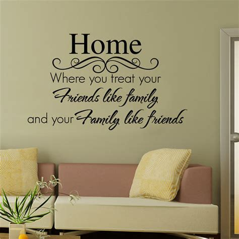 words wall stickers sayings on family quotes wall decals and vinyl decals