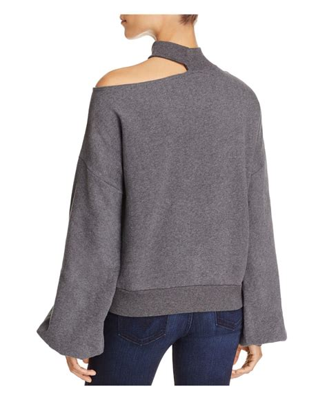 lyst vince camuto single cold shoulder balloon sleeve