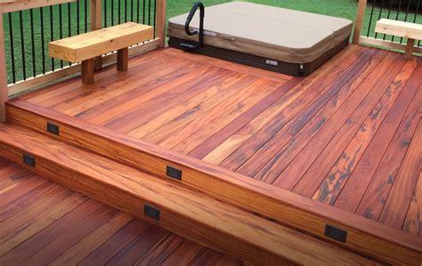 Hardwood Decking Ideas & Ipe Decking Pictures   Brazilian