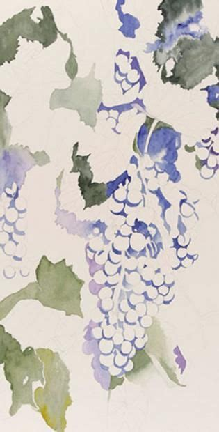 watercolor grapes tutorial watercolor painting demonstration of grapes step 1http