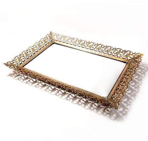 antique vanity trays vintage mirror vanity tray vanity