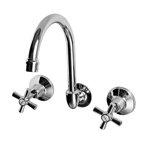 bathroom taps bunnings ezyfix wels 3 star 8l min chrome wall sink laundry set