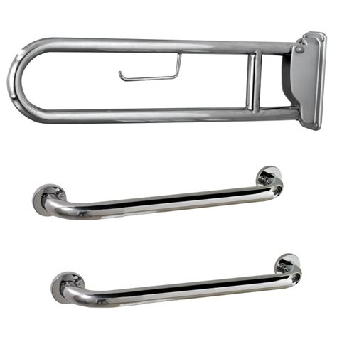 disabled bathroom grab rails chrome doc m pack disabled bathroom toilet basin and grab