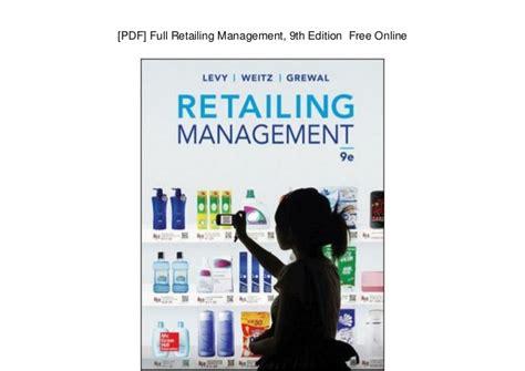 Retailing Management 9th Edition pdf retailing management 9th edition free
