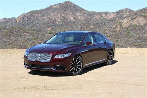 Lincoln Continental Review 2017 lincoln continental review autoguide news