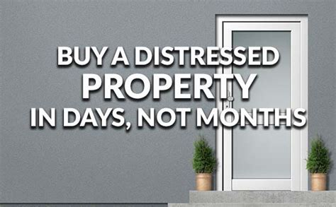 can a single mom buy a house buy distressed property in just a few days