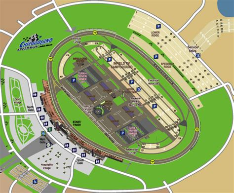 map kentucky racing tracks nascar chicagoland speedway map on behance