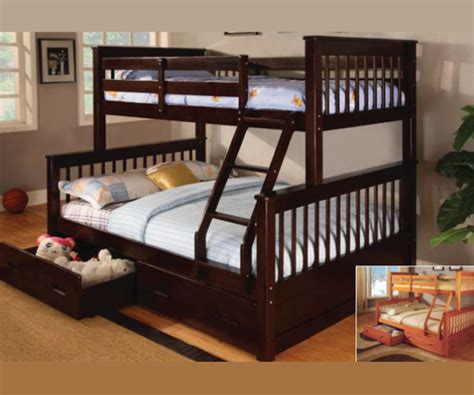 Bunk Bed With Storage Drawers by Lowe Bunk Bed With Storage Drawers