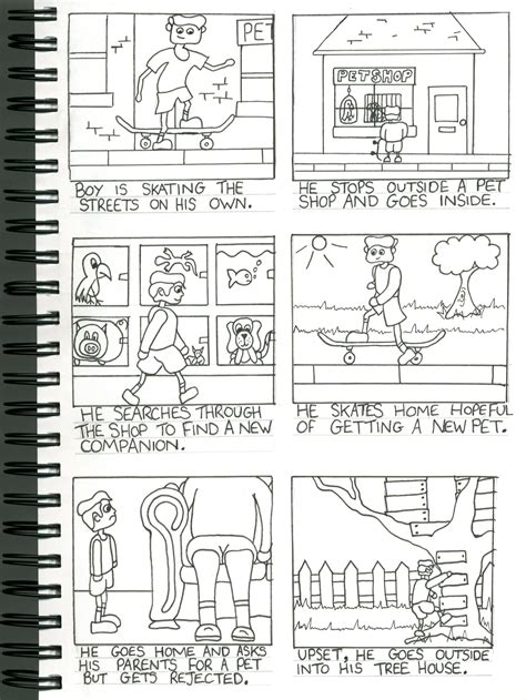 sketchbook story character design sheet story board tommorfitt animation