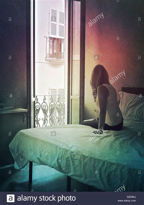 alone in a room a alone in a hotel the room with a view stock photo royalty free image 310079606 alamy
